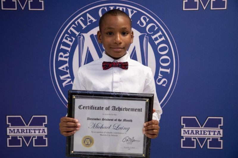 MICHAEL LAING: MCS DECEMBER STUDENT OF THE MONTH
