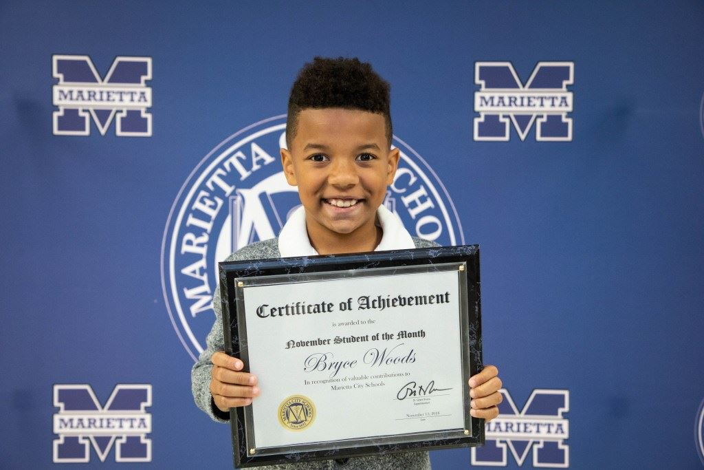 Bryce Woods: MCS November Student of the Month