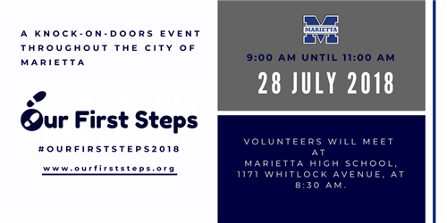Our First Steps 2018