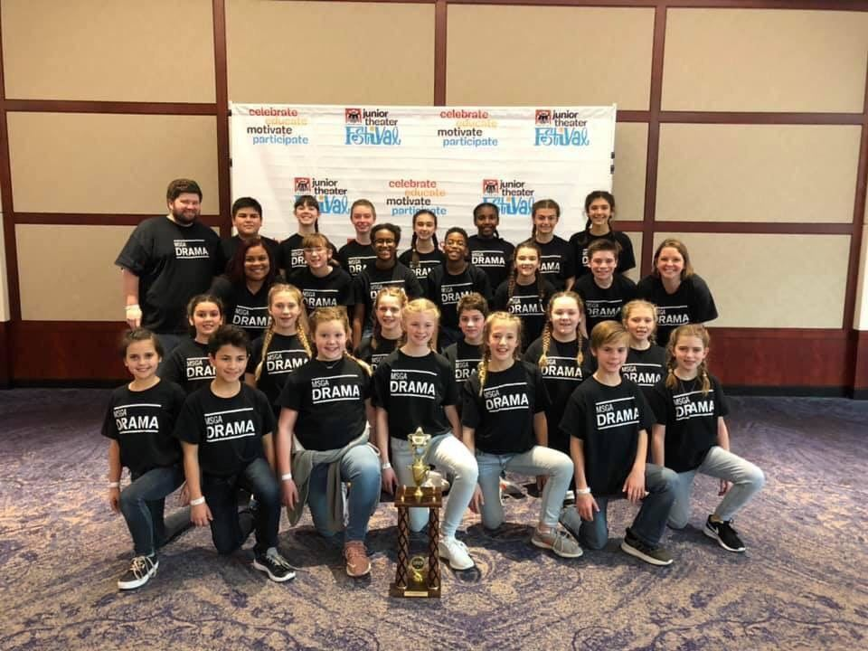 CURTAIN UP! MSGA ACADEMY ACTORS RECEIVE COVETED JUNIOR THEATER FESTIVAL AWARD