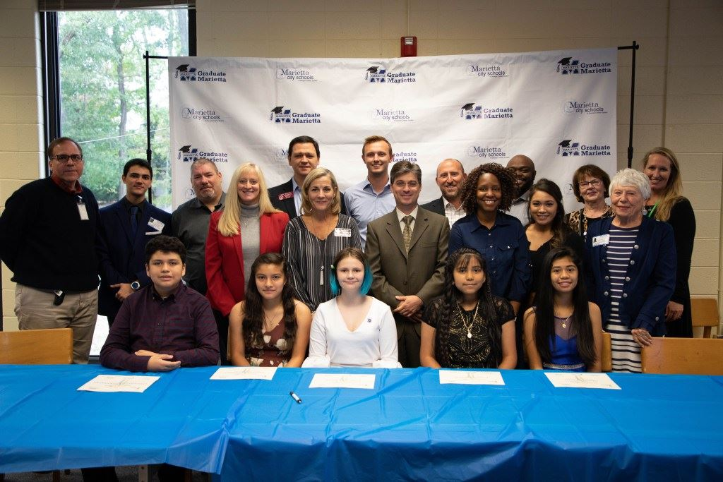 FIVE MARIETTA MIDDLE SCHOLARS RECEIVE $50,000 IN REACH COLLEGE SCHOLARSHIPS