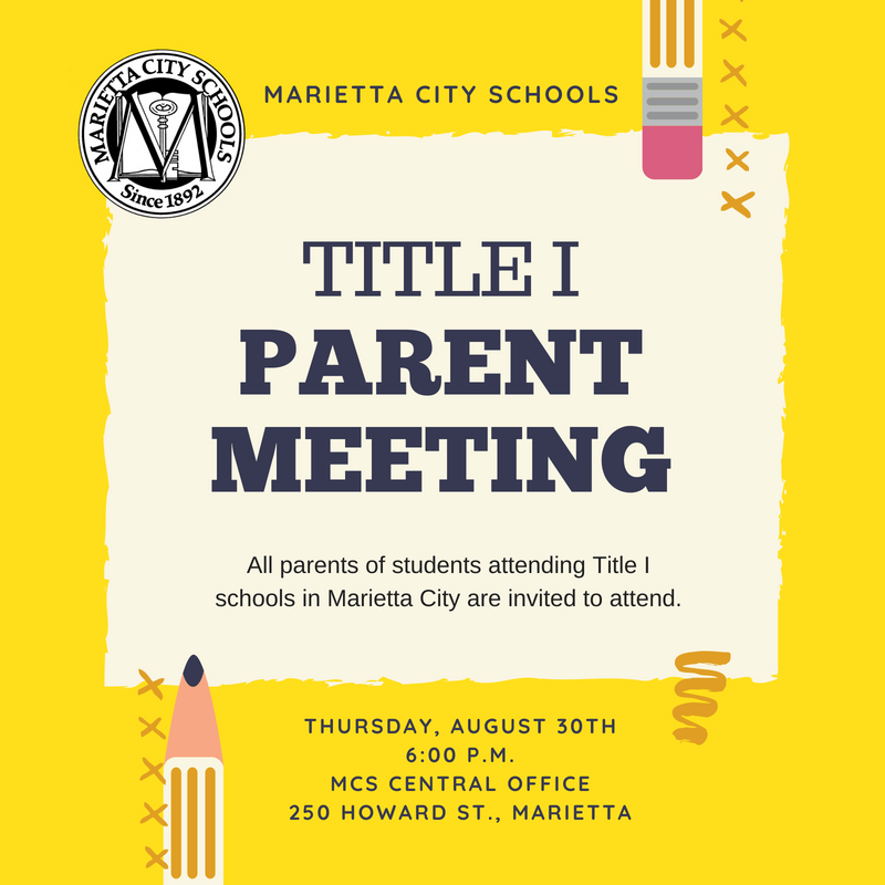 Title I Parent Advisory Council Meeting Notice
