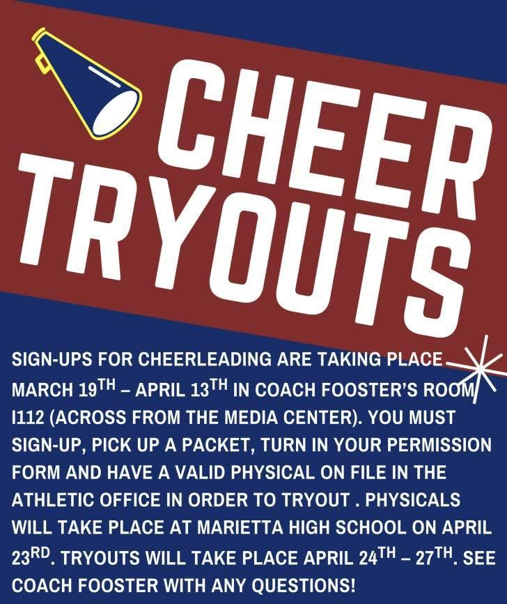 Cheerleading Tryouts Graphic