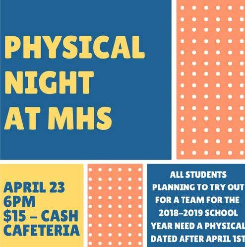 Physical Night at MHS
