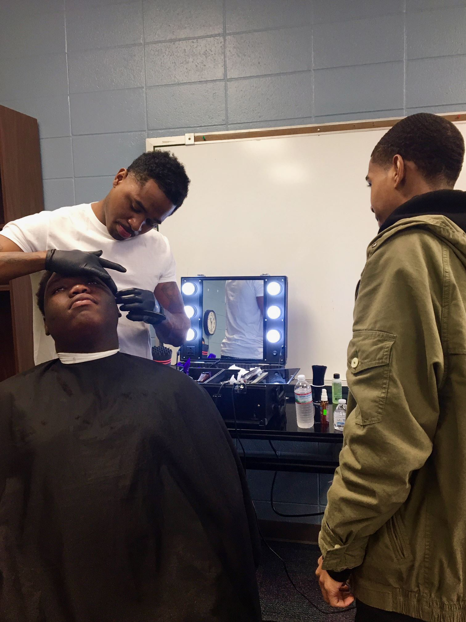 MPLC Students Learn About Barbering as a Career