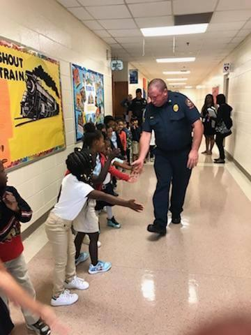 Dunleith Elementary Celebrates Public Safety Appreciation Week