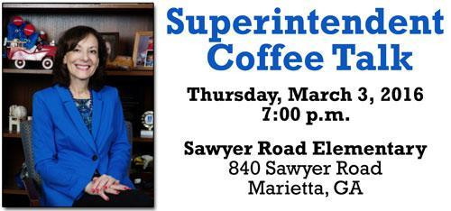 "02/29 Superintendent Lembeck Hosts  ""Coffee Talk"" – March 3"