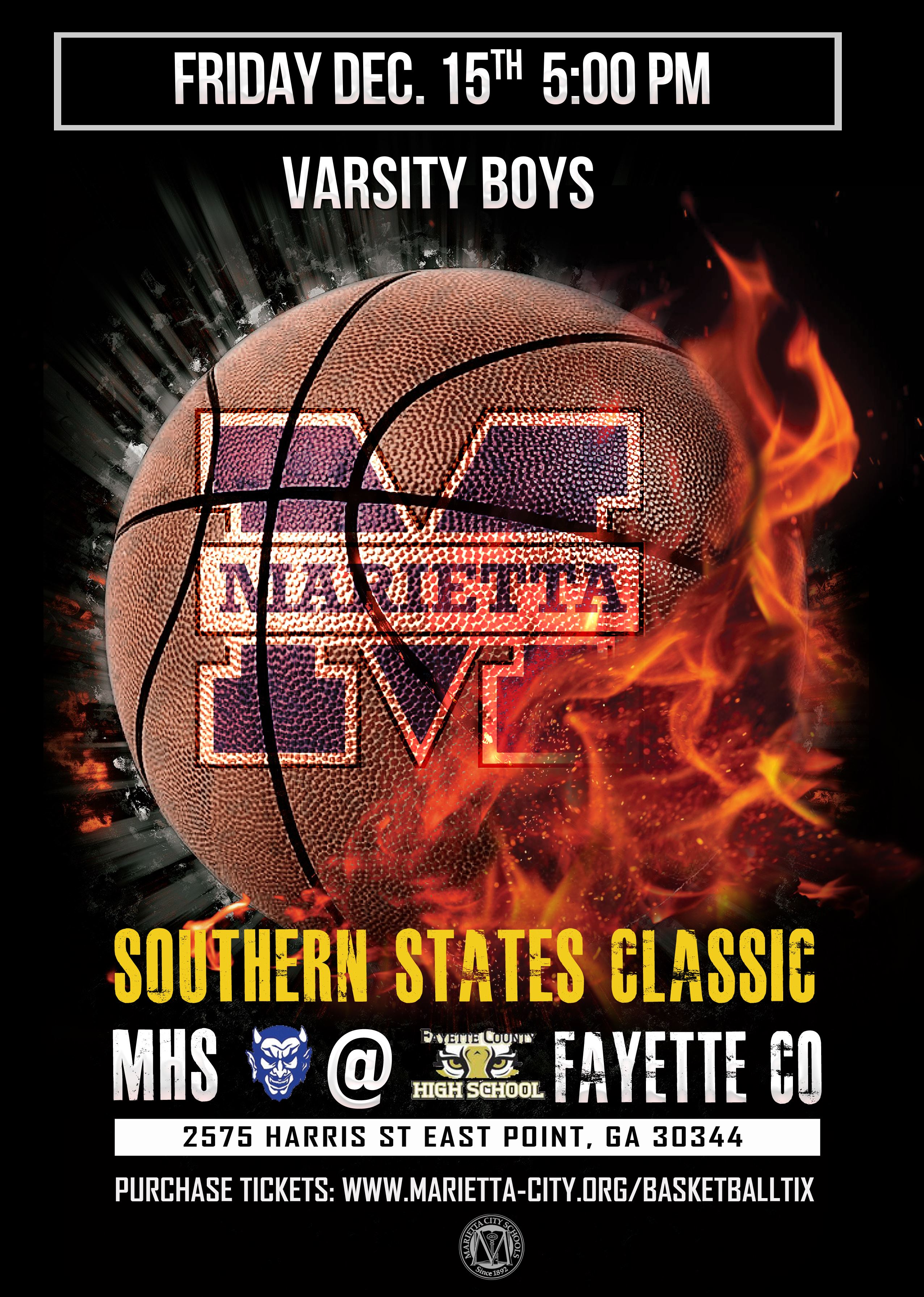 Southern States Classic: MHS vs Fayette County High School