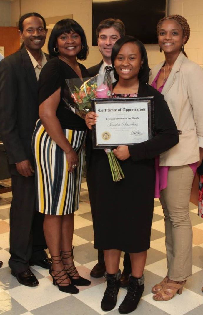 February Student of The Month: Icesha Sanders