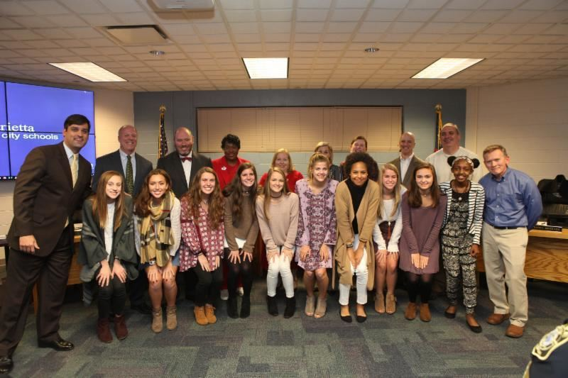 GHSA State Champions - Lady Blue Devils Cross Country Team