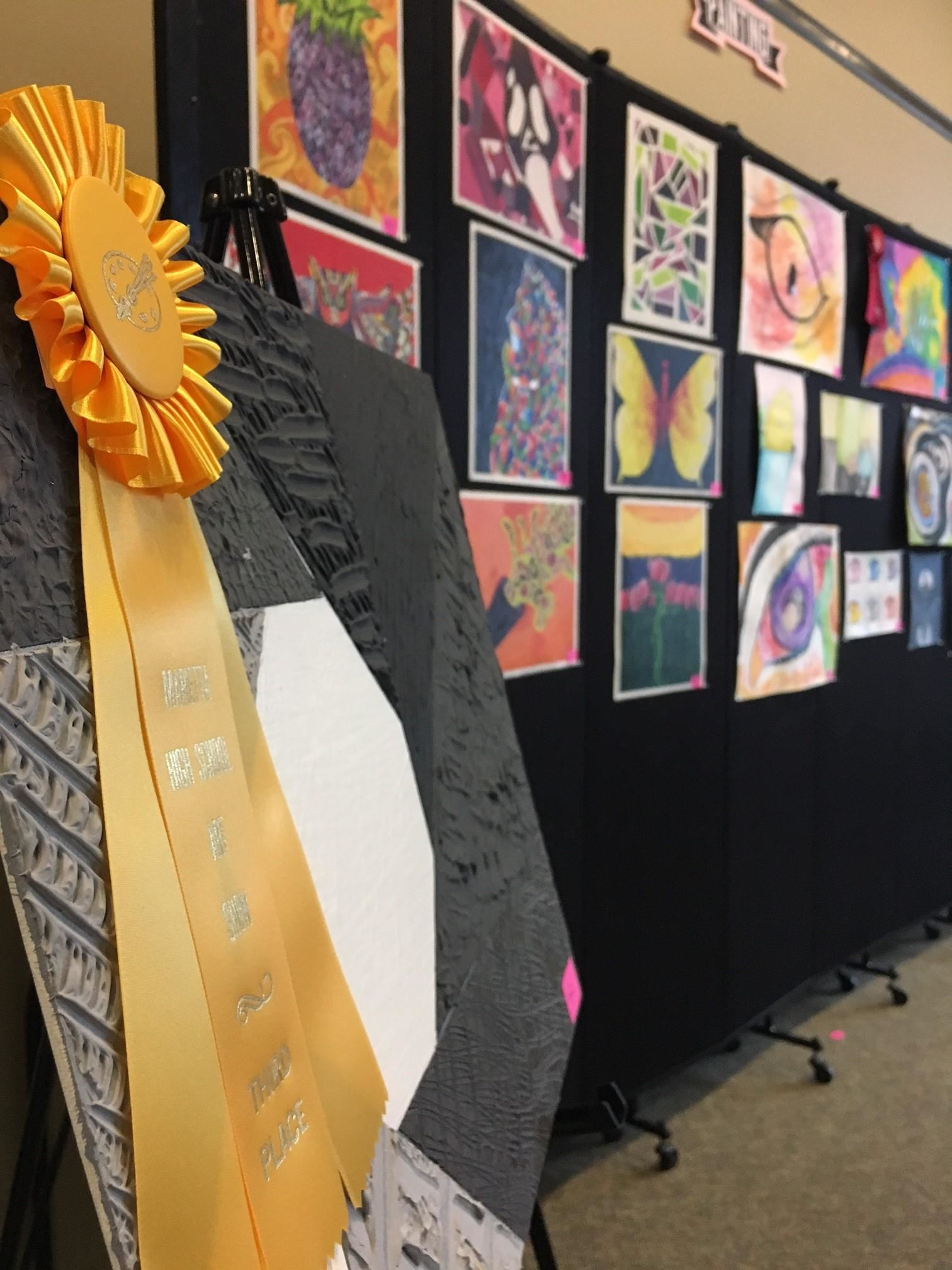 The Marietta High School Art Show Exhibits and Recognizes Students' Exemplary Work