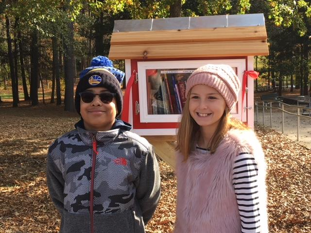 MCS Students Create Little Libraries for Marietta Community