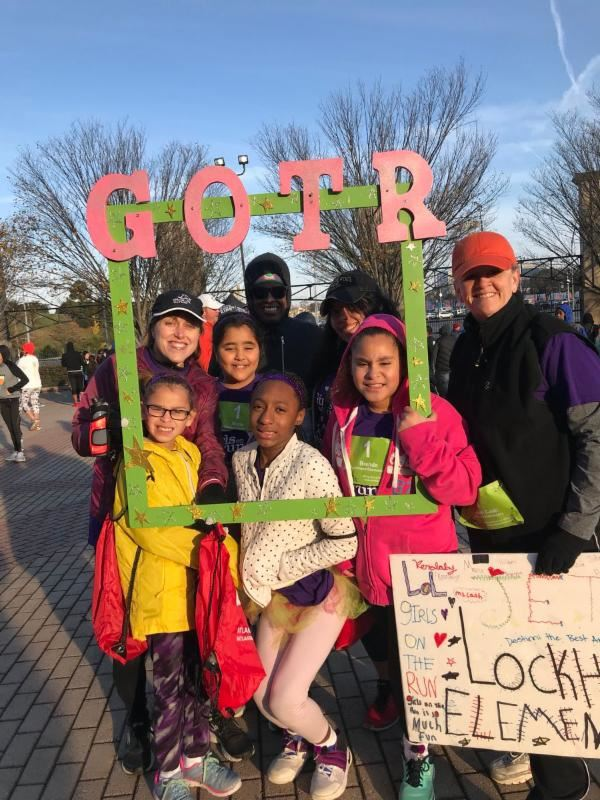 Marietta Schools Participate in Girls on The Run 5K