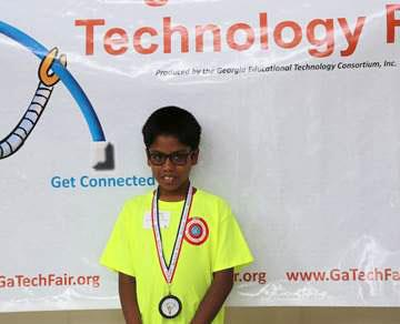 GA. Educational State Tech Competion Winner