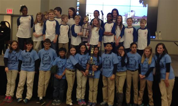 02/18 MCAA places 1st and ALB places 2nd in Regional Helen Ruffin Reading Bowl Competition