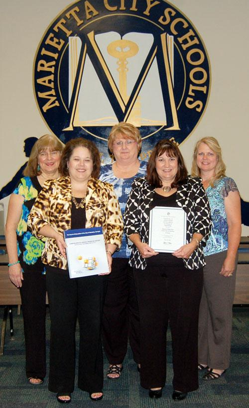 08/20 MCS Finance Department Receives Certificate of Achievement for Excellence