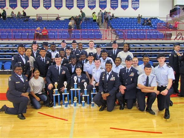 03/04 Marietta High School AFJROTC Excel in State Competition