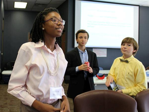 09/16 Marietta Middle School Student Named To State Superintendent's Student Advisory Council
