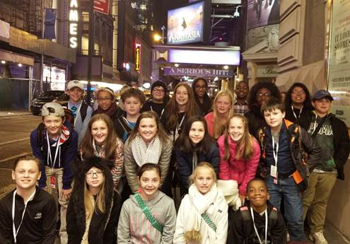 From the Classroom to the Big Apple: MSGA and MMS Students Study Drama in New York City