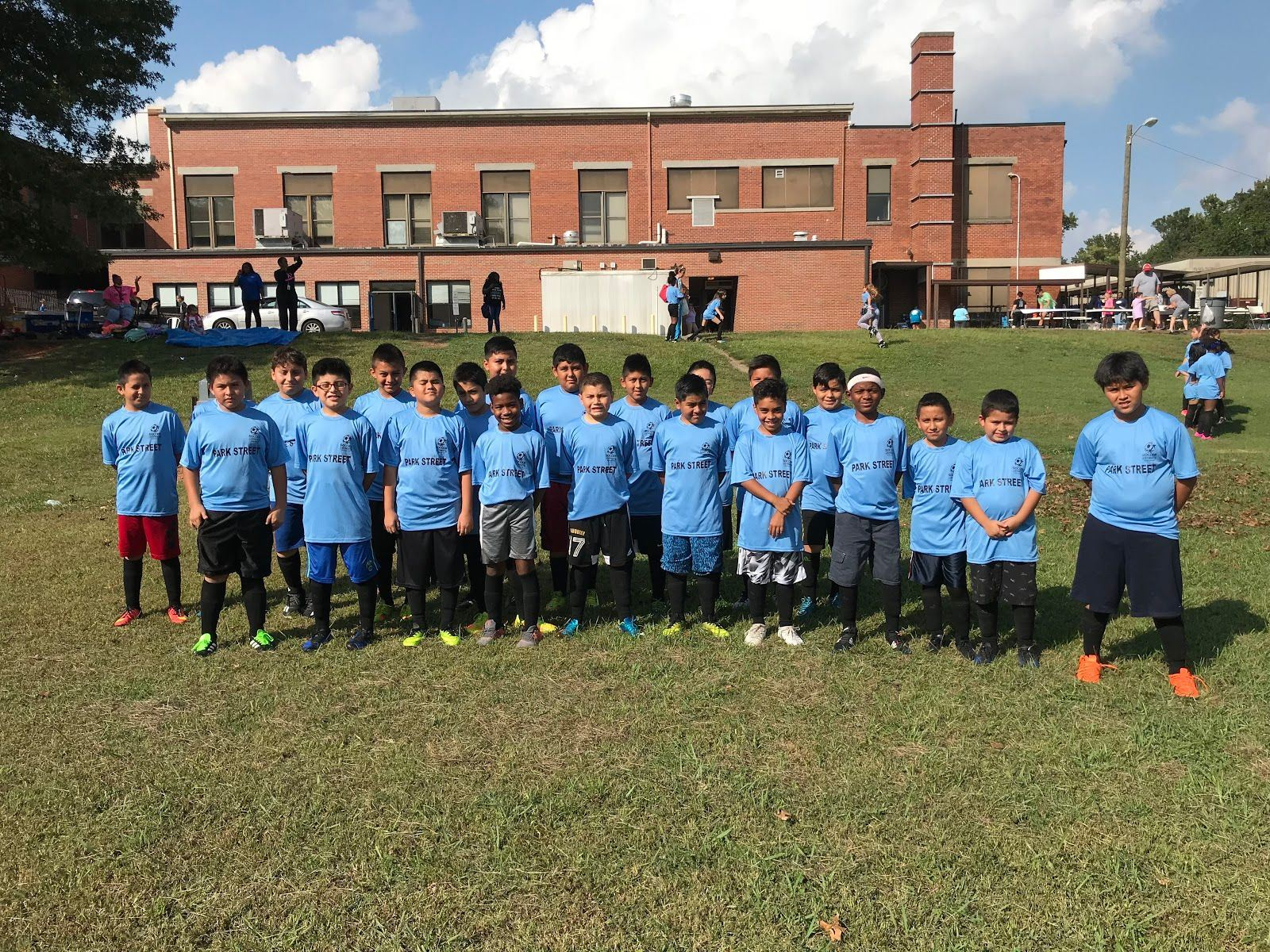 Marietta's​ ​Park​ ​Street​ ​Elementary​ ​Partners​ ​with​ ​Atlanta​ ​United​ ​and Stonebridge​ ​Church​ ​to​ ​Launch​ ​New​ ​Soccer​ ​Program