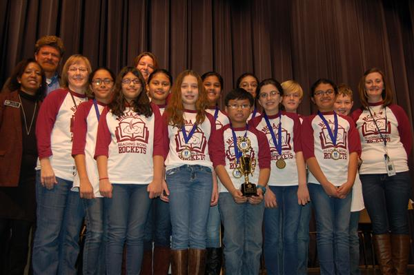 MCAA Students Win District Wide Reading Bowl, Jan. 15, 2016
