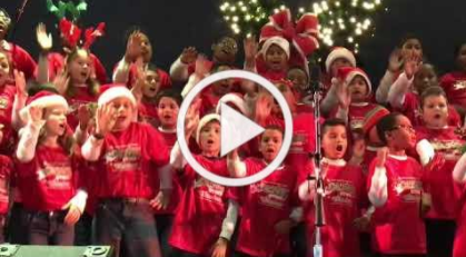 Sawyer Road Elementary Singers Perform at Marietta Tree Lighting