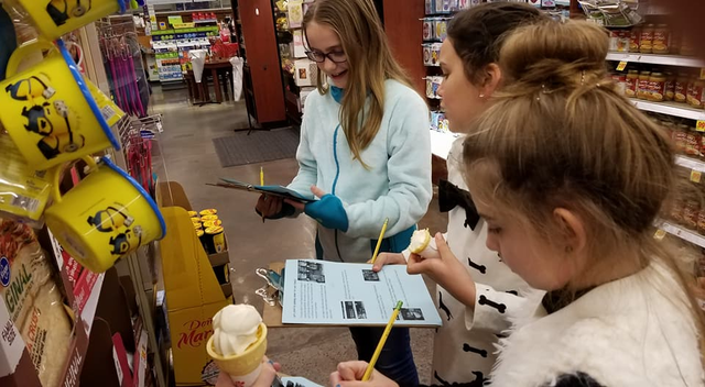 Students and Families Experience Math Night at Kroger