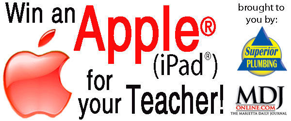 Win an Apple® (iPad®) for Your Teacher