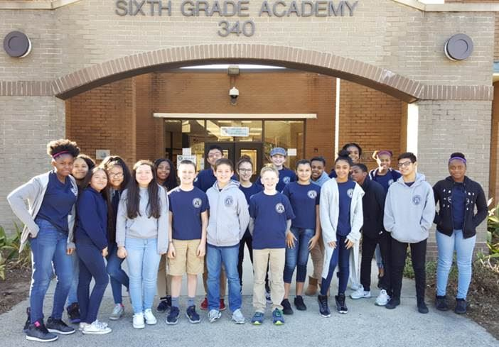 Marietta Students Participate in the National Geography Bee