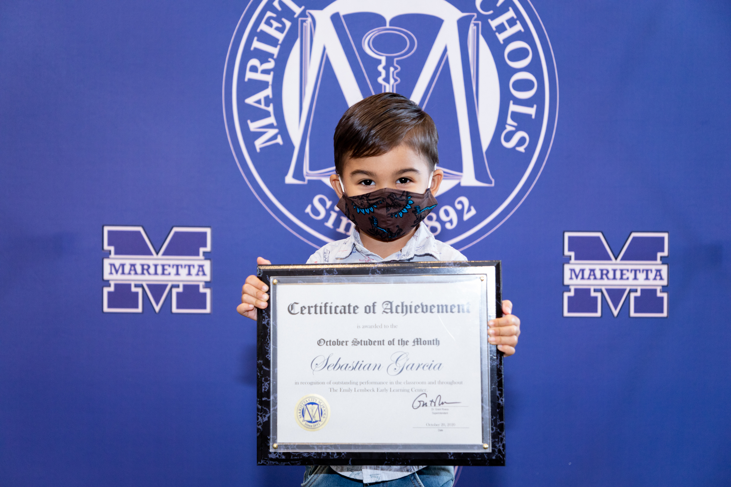 Sebastian Garcia: October Student of the Month