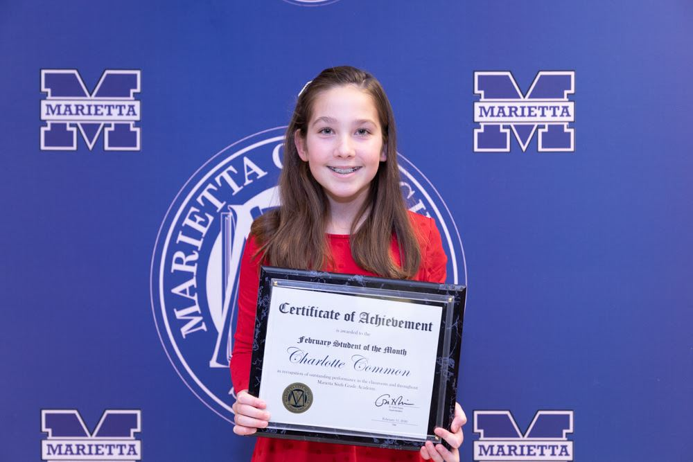 Charlotte Common: February Student of the Month