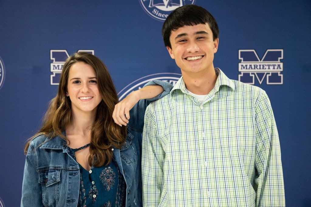 TWO MARIETTA STUDENTS NAMED NATIONAL MERIT COMMENDED STUDENTS