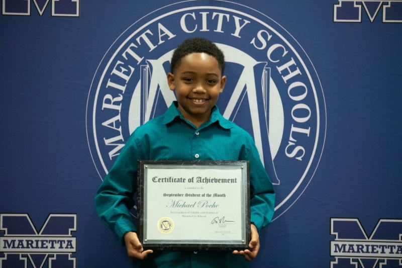 Michael Poche: MCS September Student of the Month