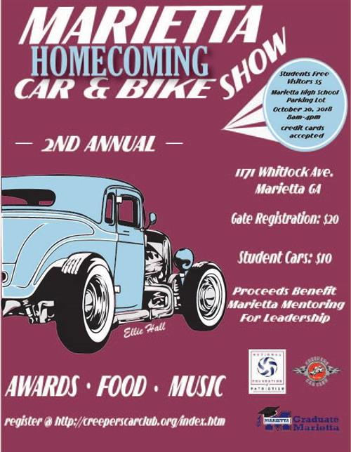 Car and Bike Show Flyer 2018