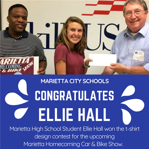MHS Student Ellie Hall 'Draws' Attention with her Winning Graphic Design