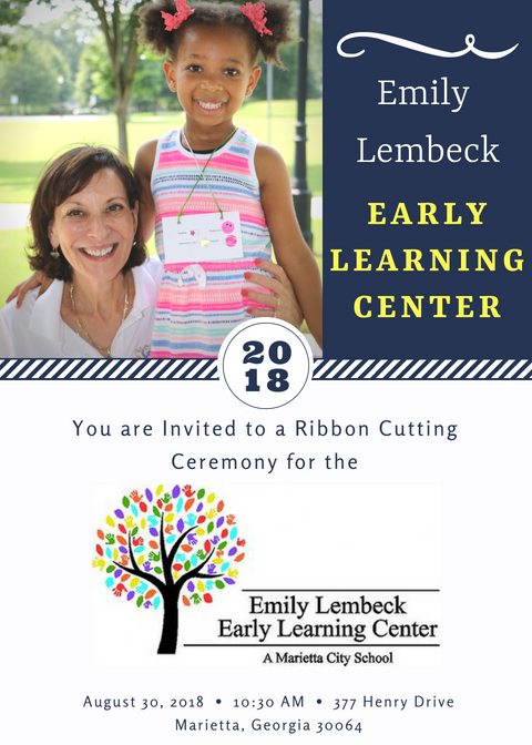 Early Learning Center Ribbon Cutting Ceremony