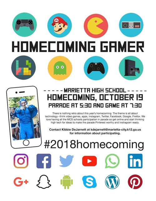 Homecoming Flyer 2018