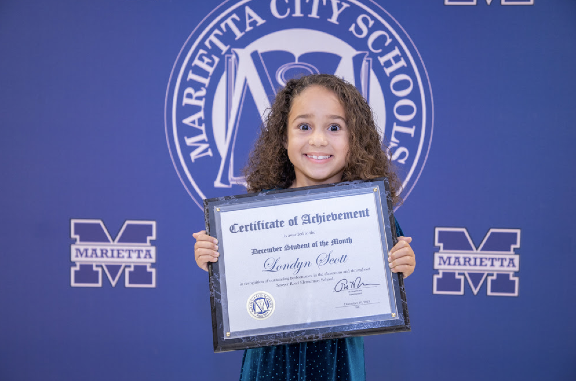 Londyn Scott: December Student of the Month
