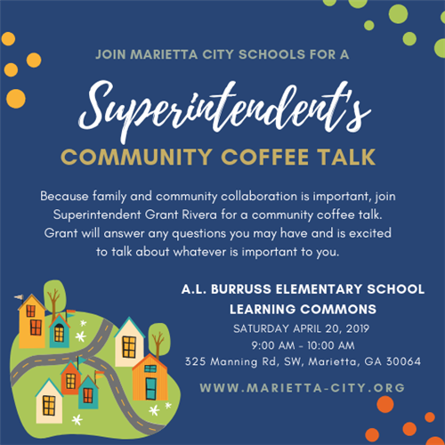 Superintendent's Coffee Talk