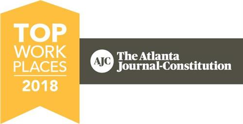 AJC Award Top Work Places 2018