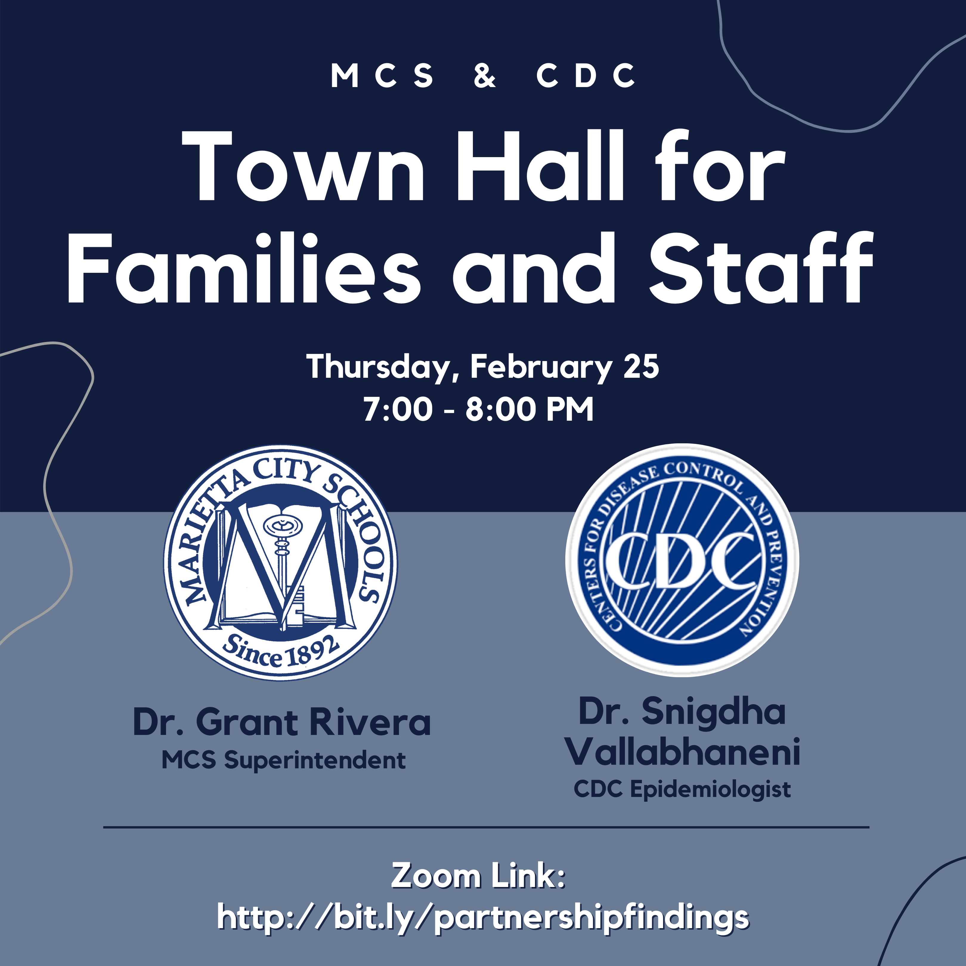 CDC and MHS Virtual Town Hall