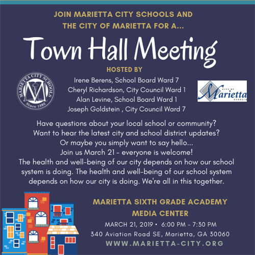 Town Hall Meeting March 2019