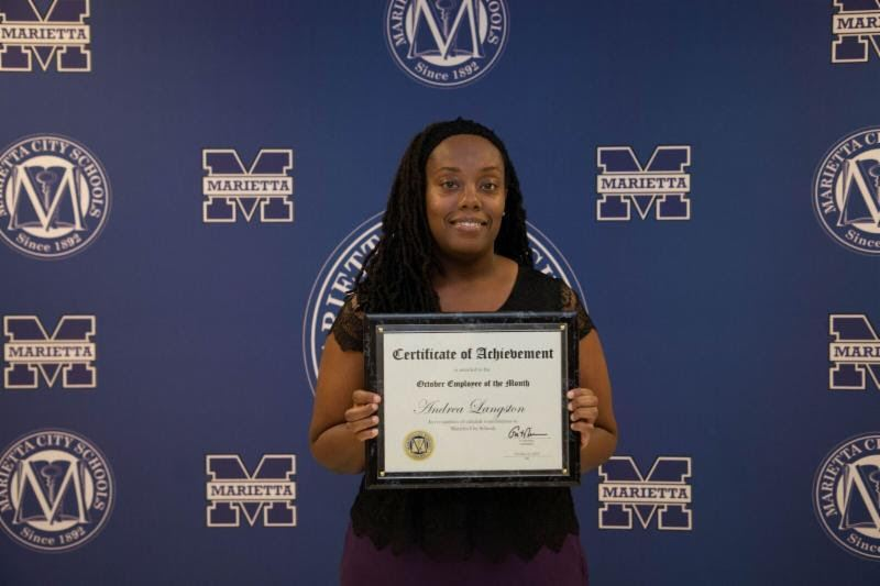Andrea Langston: MCS October Employee of the Month