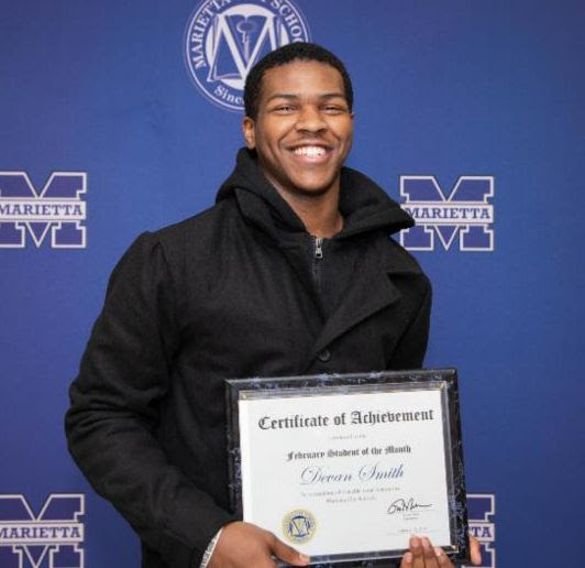 Devan Smith: February Student of the Month