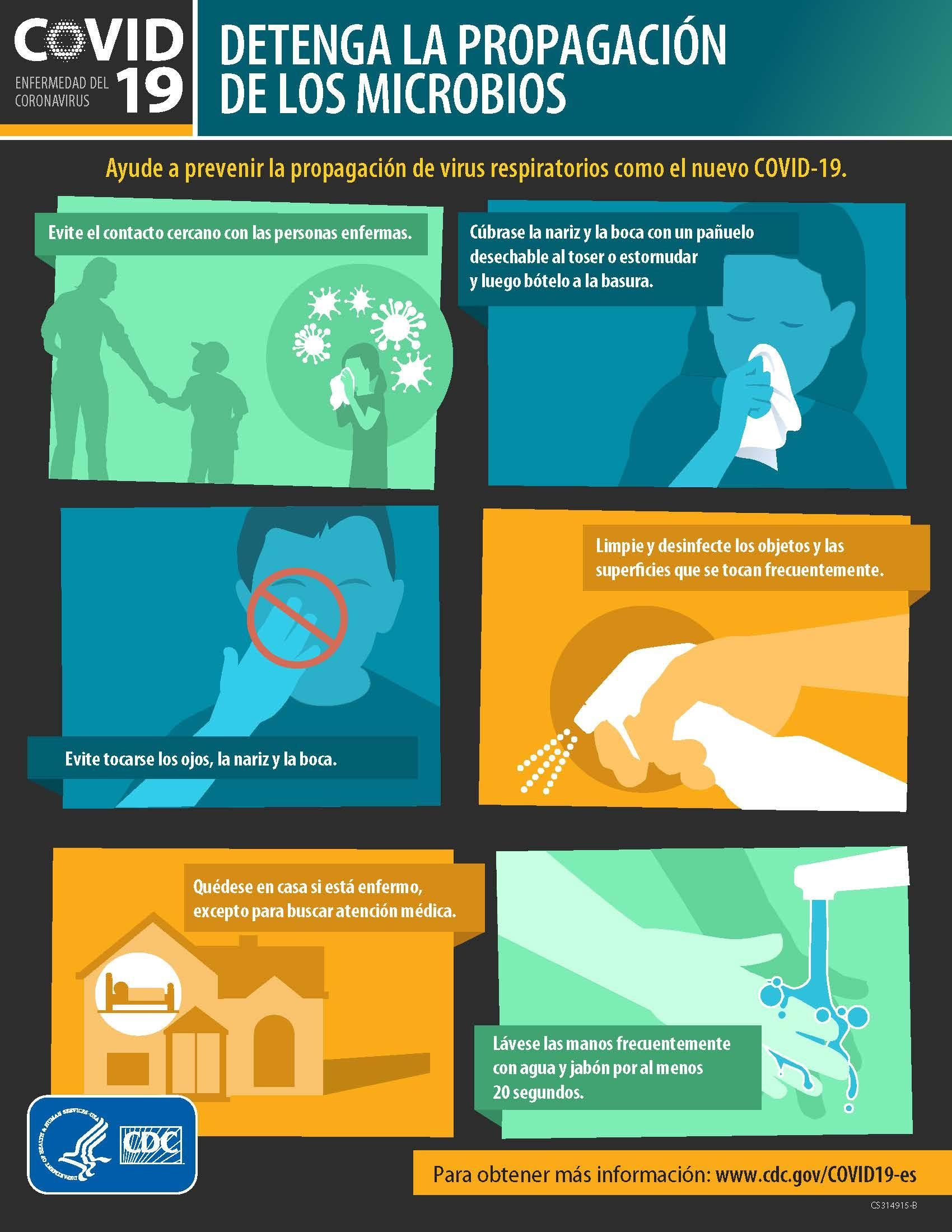 COVID-19 flyer Prevention (Spanish)