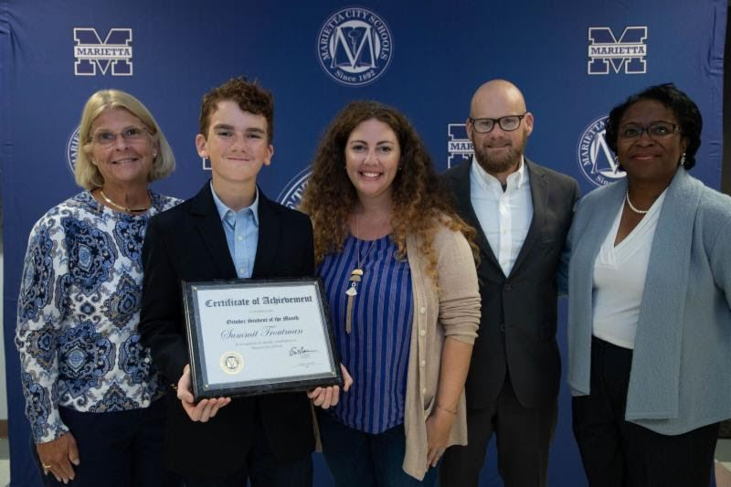 Summit Troutman: MCS October Student of the Month
