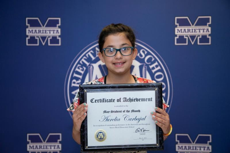 Aurelia Carbajal: May Student of the Month