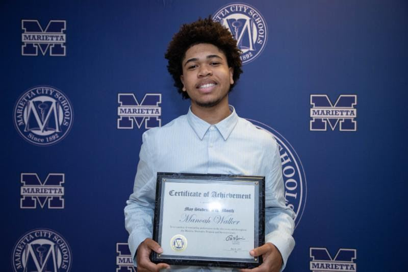 Manoah Walker: May Student of the Month