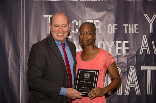 Board Appreciation Award Lisa Mays