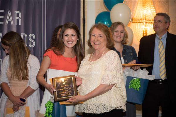 Rose Wing Award Madison Rutherford, MCAA